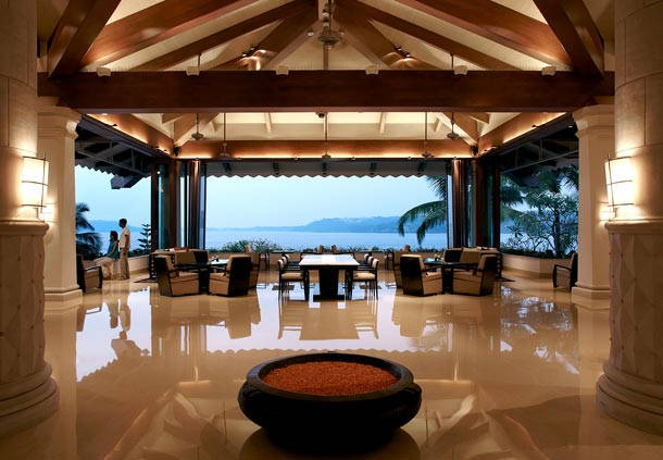Goa Marriott Resort Lobby View